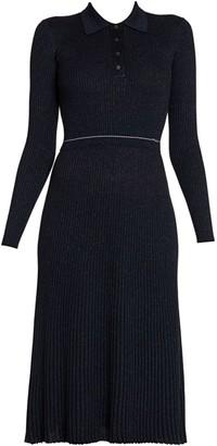 Prada Ribbed Sweater Dress