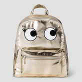 Cat & Jack Kids' Metallic Backpack with Eyes - Gold