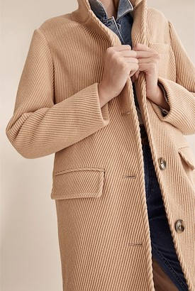 Country Road Twill Wool Coat