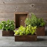 Williams-Sonoma Barn Board Planter