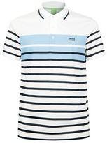 BOSS GREEN Paule 3 Stripe Polo T-Shirt