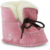 Lamo Baby Girls' Moccasin Boot Slippers