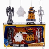 Kurt Adler Doctor Who Mini Ornament Gift Set of 4 Pieces by