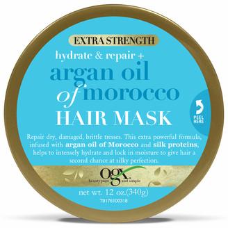 OGX Hydrate & Repair+ Argan Oil of Morocco Extra Strength Hair Mask 168g