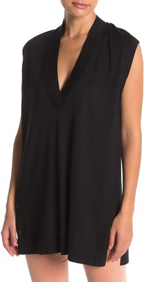 Wolford Skin Glow Silk Blend Tunic Top