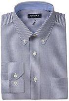 Nautica Men's Engineer-Stripe Dress Shirt