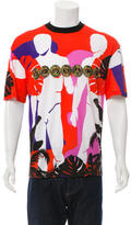 Versace Short Sleeve Graphic T-Shirt w/ Tags