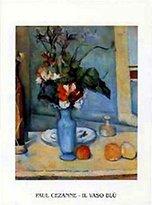 Cezanne 1art1 Posters: Paul Poster Art Print - Il Vaso Blù (28 x 20 inches)