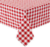 Asstd National Brand Caf Check Tablecloth
