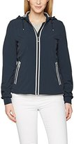 Geox Women's WOMAN JACKET Long Sleeve Jacket,14 (Manufacturer Size: 42)
