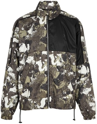 Marcelo Burlon County of Milan Cross camouflage-print shell jacket