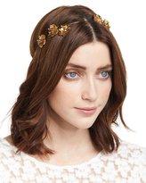Jennifer Behr Belle Floral Bandeau Headband