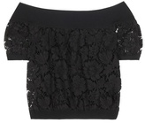 Valentino Lace Off-the-shoulder Top