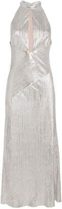 Galvan Peek-a-Boo Cocktail Dress