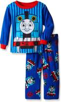 Thomas & Friends Thomas the Train Little Boys' Engine Stripes 2-Piece Pajama Set