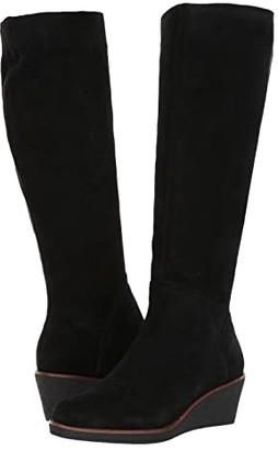 Aerosoles Binocular (Black Suede) Women's Boots