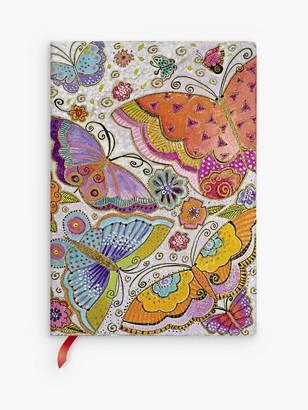 Paperblanks Flexi Flutterbyes Midi Journal, Multi