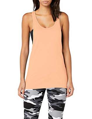 Urban Classic Women's Ladies Loose Burnout Tanktop Sports Shirt