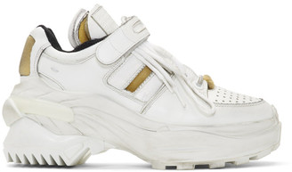 Maison Margiela White Retro Fit Chunky Sneakers