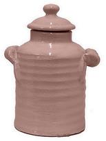 """10"""" Ceramic Jar, Blush"""