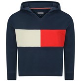 Tommy Hilfiger Tommy HilfigerNavy Flag Block Hooded Sweater