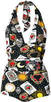 Dolce & Gabbana Playing Cards swimsuit