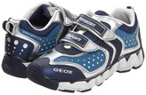 Geox Kids - Jr Rumble 2 (Toddler/Youth) (Navy/Silver) - Footwear