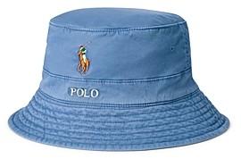Polo Ralph Lauren Cotton Stretch Twill Bucket Hat