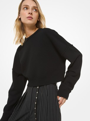 Michael Kors Cashmere Cropped Sweater