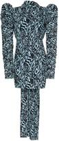 SOLACE London Marne patterned mini dress