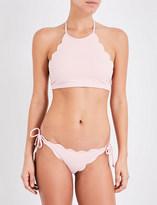 Marysia Swim Mott halterneck bikini top