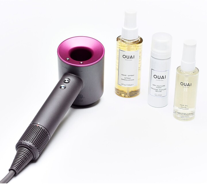Dyson Supersonic(TM) Hair Dryer & OUAI Blow Out Set