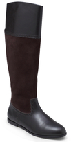 Brooks Brothers Perforated Suede Flat Boot
