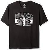 Rocawear Men's Big and Tall Rw99bk Short Sleeve Tee