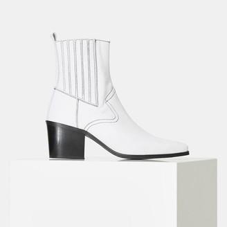 Shoe The Bear Georgia Chelsea Boot White - 36