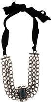 Lanvin Crystal Choker Necklace