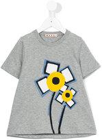 Marni flower print T-shirt - kids - Cotton - 6 yrs
