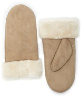 Forever 21 FOREVER 21+ Faux Suede Shearling Mittens