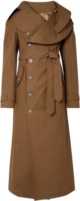 Awake Belted Cotton-gabardine Trench Coat