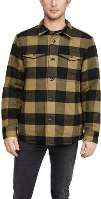 Madewell Buffalo Plaid Quilted Lined Shacket