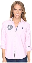U.S. Polo Assn. Solid Oxford Woven Shirt