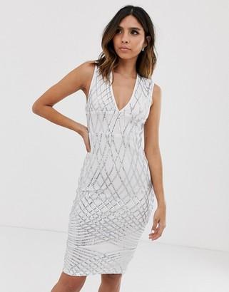 AX Paris sequin midi dress