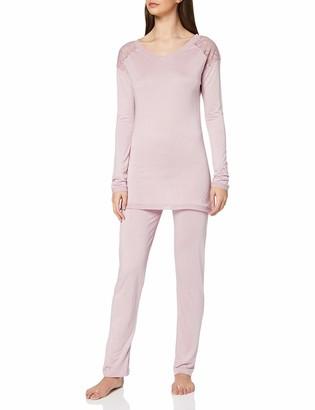 Lovable Women's Pink Modal Pajama Set