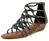 Fergalicious Garnett Open Toe Synthetic Wedge Sandal.
