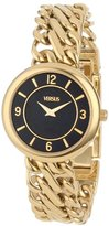 Versus By Versace Women's SGF050013 Acapulco Gold Ion-Plated Stainless Steel Chain Bracelet Watch
