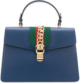 Gucci Sylvie tote bag - women - Cotton/Leather/metal - One Size