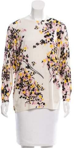 Giambattista Valli Printed Cashmere Sweater w/ Tags