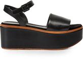 Robert Clergerie Flane leather flatform sandals