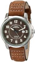 Timex Men's Expedition T49891 Calf Skin Quartz Watch