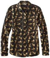 L.L. Bean L.L.Bean Signature Lightweight Flannel Shirt, Print